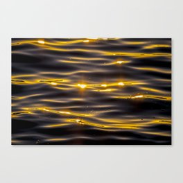 Golden Sea Canvas Print