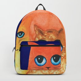 Annapolis Whimsical Cats Backpack