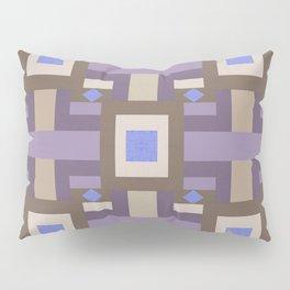 WINTER GEOMETRY PATTERN Pillow Sham