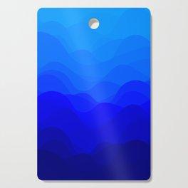 Blue Waves Cutting Board