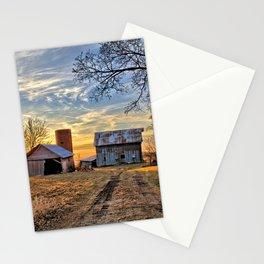 Kipling Barn Sunset 2 Stationery Cards