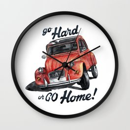 citroën 2cv Wall Clock