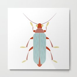 Soldier beetle Cantharidae insect Metal Print