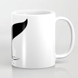 Whale Tail Fin Coffee Mug