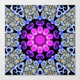 Colorful Oriental Mandala Canvas Print