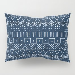 Mudcloth Style 1 in Navy Pillow Sham