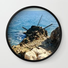 Love By The Sea Wall Clock