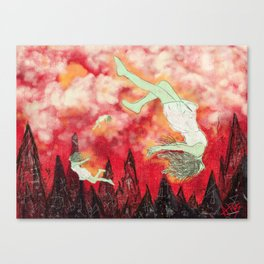 witches brew. (mint) Canvas Print
