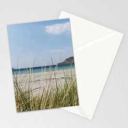 a beautiful deserted beach Stationery Cards