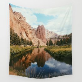 Filtered Smith Rock Wall Tapestry