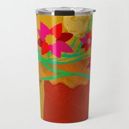 Finding My Inner Flower Power Travel Mug