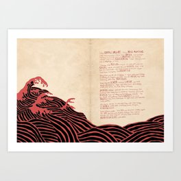 Gadis Pantai: Prologue Art Print