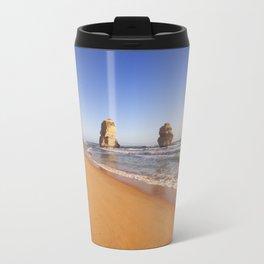 I - Twelve Apostles on the Great Ocean Road, Australia at sunset Travel Mug