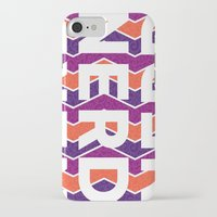 nerd iPhone & iPod Cases featuring NERD by Laura Stiner