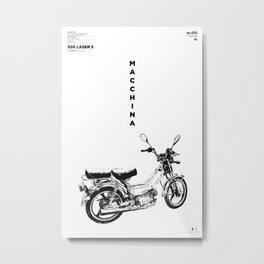 Macchina No.03 Metal Print