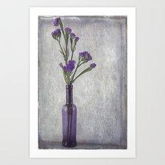 Purple Vase Art Print