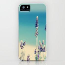 beach - lavender blues iPhone Case