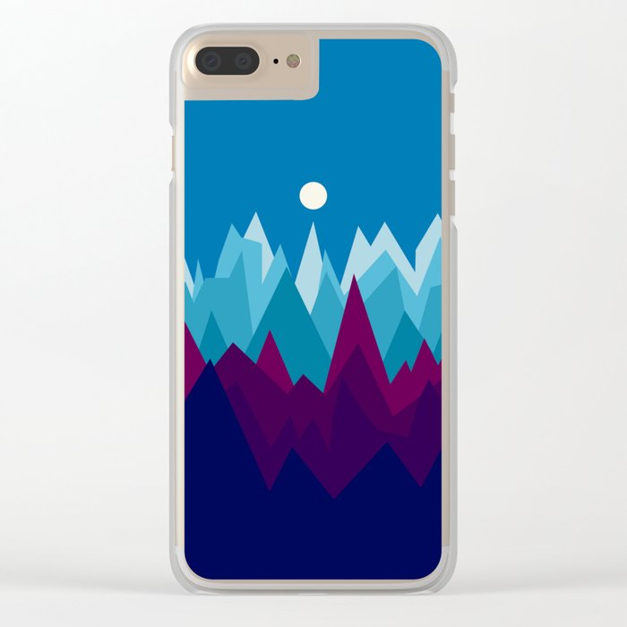 Landscape NC 13 Clear iPhone Case