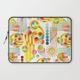 Abstract Art Deco Laptop Sleeve
