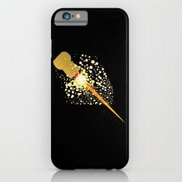 Flying Rocket Powered Cork iPhone Case
