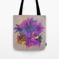 low poly Tote Bags featuring Low Poly by Schmeez