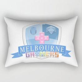 Melbourne Gaymers Logo Rectangular Pillow