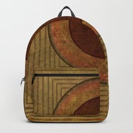 """Golden Circle Japanese Vintage"" Backpack"