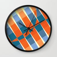 art deco Wall Clocks featuring Art Deco by Robert Cooper