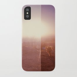 Valley of the Sun [lo-fi] iPhone Case