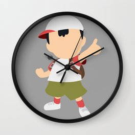 Ness(Smash)Fuel Wall Clock