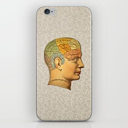 Phrenology | A Picture of Good Health circa 1881 iPhone Skin