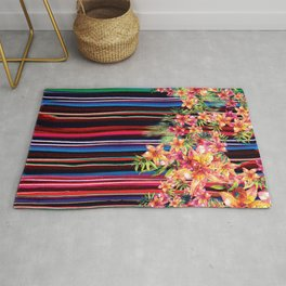 Florid Mexican Rug