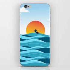 Surfing 1 iPhone & iPod Skin