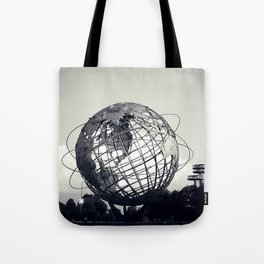 Unisphere at Flushing Meadows Park - New York City, Queens Tote Bag