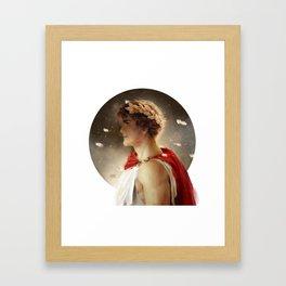Fearless King Framed Art Print
