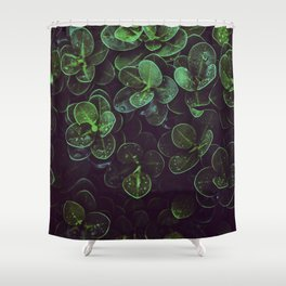NATURE - LEAVES - FRESH - PHOTOGRAPHY Shower Curtain