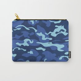 Camo Style - Blue Camouflage Carry-All Pouch