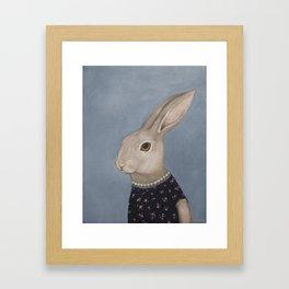 Year of the Rabbit Framed Art Print
