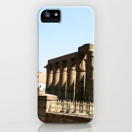Temple of Luxor, no. 30 iPhone Case