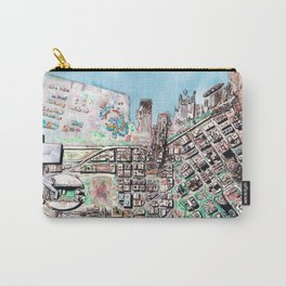 The Seattle Doomsday Map Carry-All Pouch
