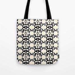 Namaste Symbol Abstract Pattern Tote Bag