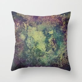 Purple-blue thingy Throw Pillow