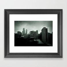 Winter in Chicago Framed Art Print