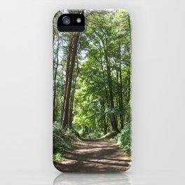 Woodland Walk iPhone Case