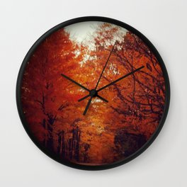 The Back Way Home Wall Clock