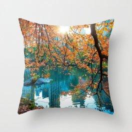 Magical Fall Throw Pillow