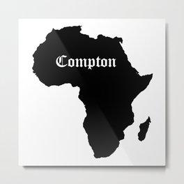 Compton 1 Metal Print