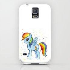 Rainbow Dash MLP Pony Galaxy S5 Slim Case