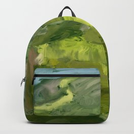 Landscape 1 Mountains Farm Backpack