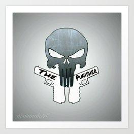 The Punisher (Cartoon) Art Print